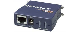 [Netgear PS101 product image]